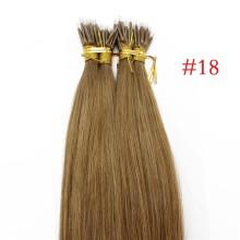 Ash Blonde #18 Real Remy Human Hair 100g Micro Nano Ring Hair Extensions