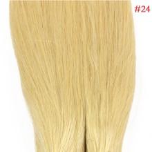 Natural Blonde #24 Real Remy Human Hair 100g Micro Nano Ring Hair Extensions