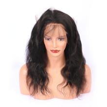 360 Lace Frontal Closure Preplucked Hairline Virgin Brazilian Human Hair