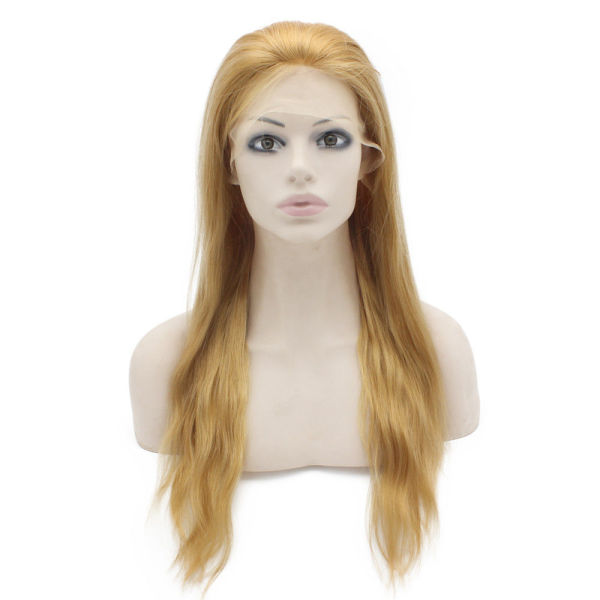 #27 Honey Blonde Body Wave Brazilian Human Hair Wigs