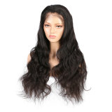 Loose Wavy Human Hair Lace Front Wig Virgin Brazilian Human Hair 6inch Deep Parting