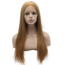 #6 Chestnut Brown Brazilian Remy Human Hair Lace Wigs