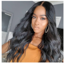 Body Wavy Lace Front Wigs Virgin Brazilian Human Hair 13*6 Deep Parting