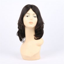 Wavy Jewish Wig 4*4 Silk Top Front Lace Wigs European Virgin Hair