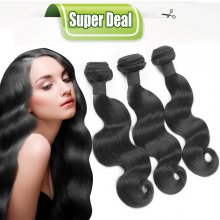 Body Wave Weave Bundles Human Hair Extensions Virgin Peruvian Hair