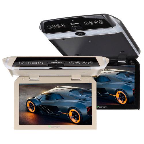 フリップダウンモニター 10.1インチ IRヘッドホン対応 超薄型デジタルスクリーン(L0121M)