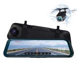 ミラー型ドライブレコーダー 右カメラ 右側カメラ 前後 2カメラ 右ハンドル対応 1080P ドラレコ (R0016)