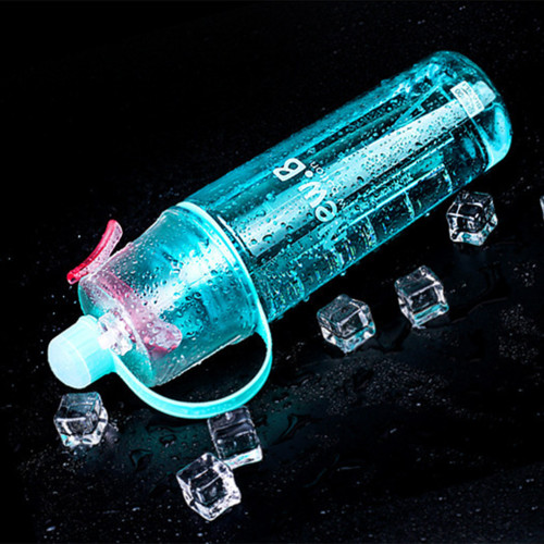 실외 운동 플라스틱 수분 공급및 온도 낮춤 가능 휴대용 물컵