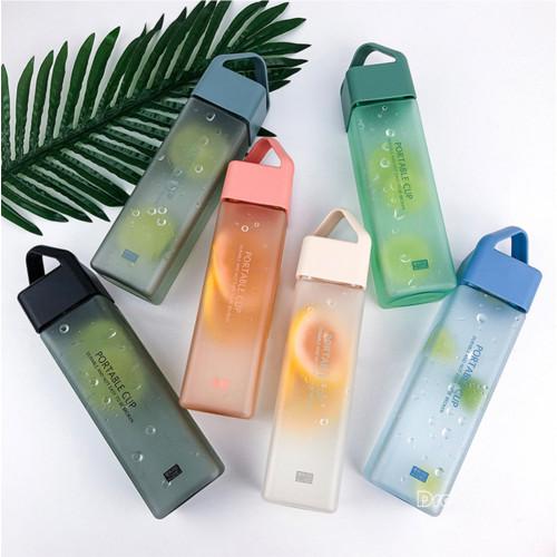 심플한 플라스틱 스크럽 물컵 다용도 휴대용 물컵