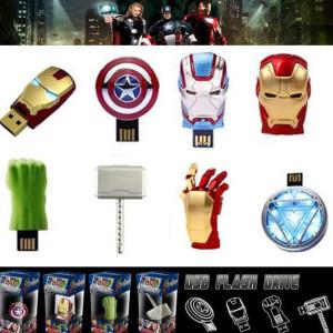 마블 어벤져스 인물 모양 USB메모리