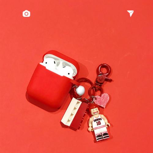 레고 블록 AirPods 케이스 아이폰 무선 블루투스 실리콘 보호커버