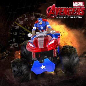 마블 어벤져스 캡틴 아메리카 4 륜구동 리모트 컨트롤 동차