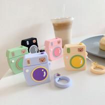 귀여운 곰돌이 애플 에어팟 1세대 2세대 케이스 실리콘 충격방지 보호 커버