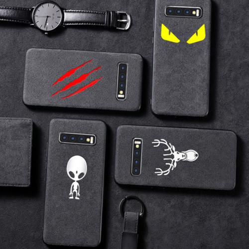 반푸르 아이폰 케이스 비즈니스 스타일 스키드 저항성 땀 방지 애플 폰  보호 커버