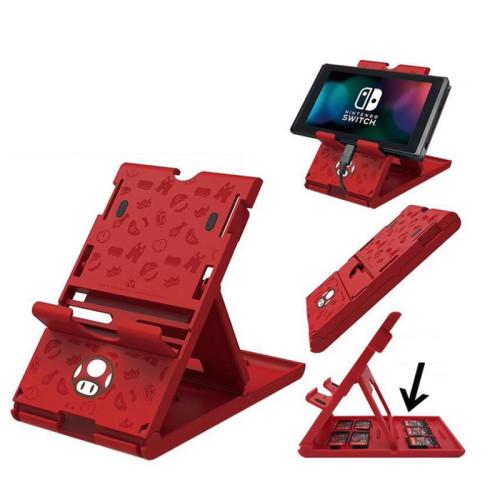 스위치 게임 카세트 브래킷 빨간 색 마리오 닌텐도 스위치 액세서리