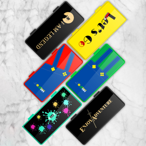 스위치 게임 카세트 박스 수납 박스 휴대용 카드 홀더 마리오 닌텐도 게임 액세서리