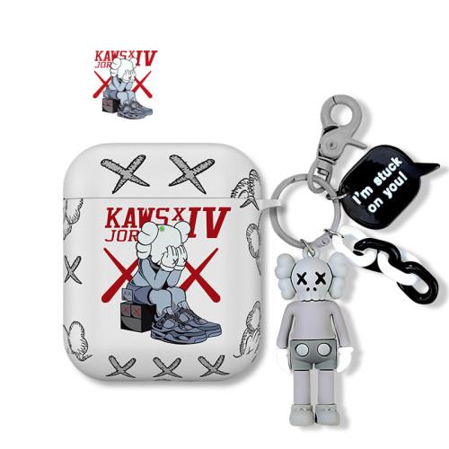 Kaws 카우스 에어팟 케이스 슈프림 패션 애플 무선 헤드폰 보호 커버