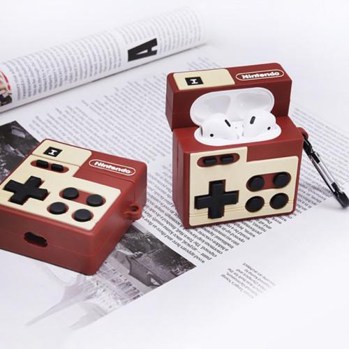닌텐도 에어팟 케이스 레트로 게임 콘솔 애플 무선 헤드폰 보호 커버