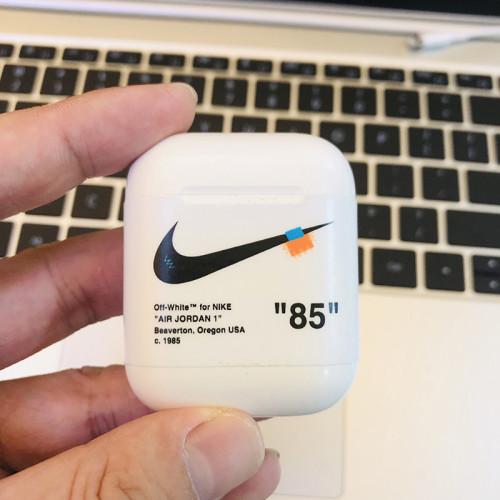 Nike 나이키 에어팟 케이스 무선 헤드셋 실리콘 충격 방지 보호 커버