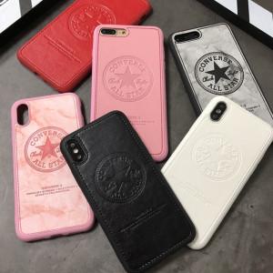 컨버스 아이폰 케이스 패션 가죽 클래식 애플 전화iPhone 11 보호 커버