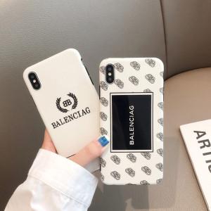 발렌시아가 아이폰  케이스 럭셔리 패션 실리콘 애플 휴대폰 iPhone 11보호 커버