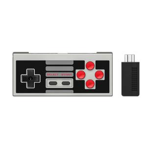 N30 2.4G 클래식 무선 컨트롤러 NES 미니 게임 콘솔 플러그 앤 플레이