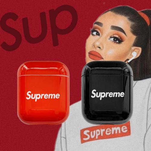 슈프림 에어팟 케이스 패션 애플 무선 블루투스 헤드셋 보호 커버