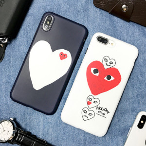 CDG Play 프로스트 아이폰 케이스 애플 인기 패션  브랜드 iPhone 11보호 커버