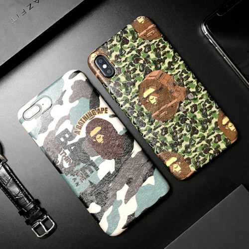 BAPE 아이폰 케이스 위장 인기 브랜드 케이스 애플 iPhone 11핸드폰 보호 커버