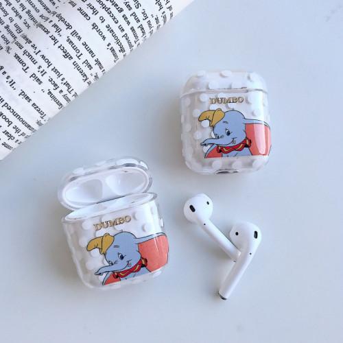 디즈니 덤보 에어팟 케이스 만화 입체 투명 애플 무선 헤드폰 보호 커버