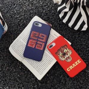 호화스러운 아이폰 케이스 유행 연약한 실리콘 매우 얇은 디자이너 보호 커버