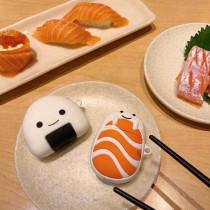 주먹밥 초밥 에아팟 케이스 애플 가을 신상 창조적인 에어팟 보호 커버