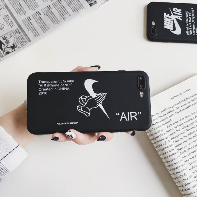 나이키 에어팟 케이스 창조적인 패션 실리콘 애플 휴대 전화iPhone 11 충격 방지 보호 커버