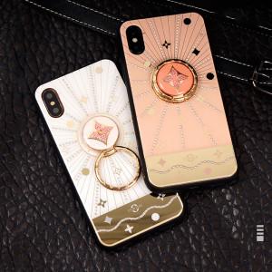 럭셔리 다이아몬드 아이폰 케이스 스타 광택 라인 석 아이폰 11/11 프로 / 11proMax