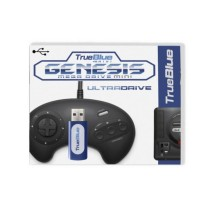 True Blue Mini-Ultradrive Pack for Genesis / MegaDrive Mini (813 Games)