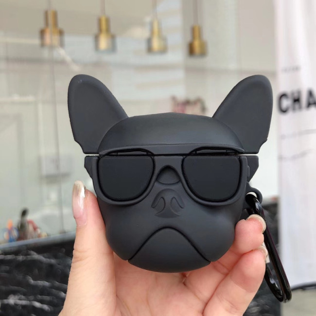 French Bulldog AirPods case cute dog Apple wireless headphone protective cover