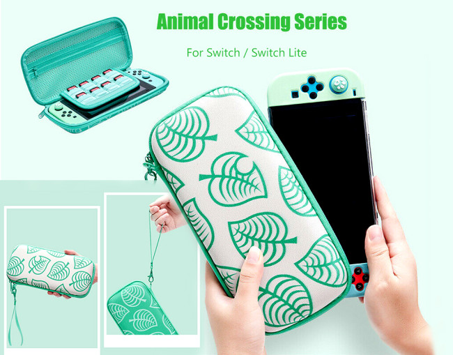 Switch Lite Case Animal Crossing New Horizons Outdoor Pattern Switch Bag