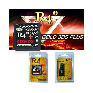 R4I GOLD 3DS RTS PLUS FLASHCARD