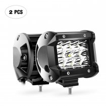 2PCS 4Inch 36W Triple Row Spot Led Bar 3600LM Driving Lights Fog Light Led Off Road Lights for Trucks Jeep UTV ATV Marine Boat,2 Years Warranty