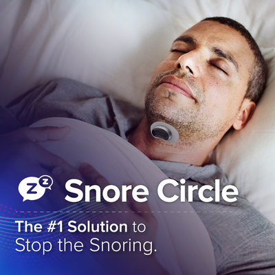 Snore Circle Smart Anti-Snoring Muscle Stimulator