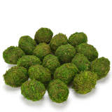 Decorative Moss Eggs, Moss Balls for Home Decor (Pack of 18)