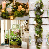 moss for crafts, moss craft, spanish moss green, spanish moss for artificial plants