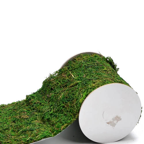 Byher Roll of Green Moss for Fairy Gardens Wedding Other Arts and Crafts (10x120cm (4  W x 48  L))