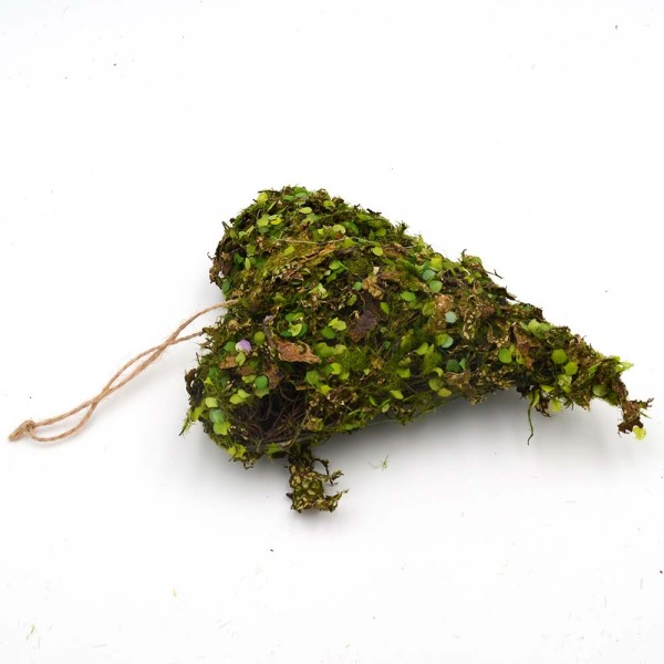 Hanging Moss Heart, Artificial Moss for Wall Hanging Decor