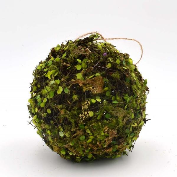 Moss Ball Hanging Ornaments, Artificial Moss Decor