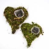 Wedding Flower Planter, Succulents Pot Woodland Weddings Fairy Garden Decor