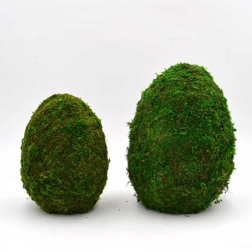 Easter Centerpiece, Large Preserved Moss Covered Easter Egg, Easter Table Decoration