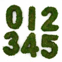 Moss Number, Woodland Wedding Table Number | Moss Wedding Decorations - Forest Fairy Garden Wedding Decor