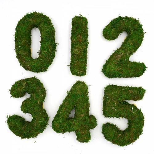 Moss Number, Woodland Wedding Table Number | Moss Wedding Decorations - Forest Fairy Garden Wedding Decor