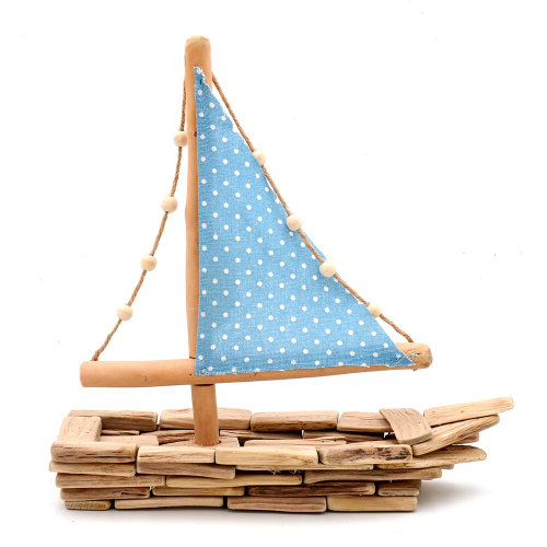Sailboat Centerpiece Decor, Sailing Gift, Sailing Decor, Sailor Decor, 14Inch
